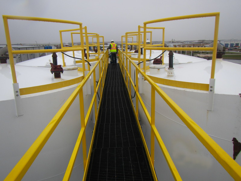 Suncor – Additional Offloading Apron at Clairmont Bulk Plant